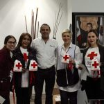 The annual collection of the Mexican Red Cross was carried out