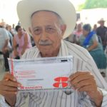 Government of Tamaulipas delivers benefits to older adults in Jiménez