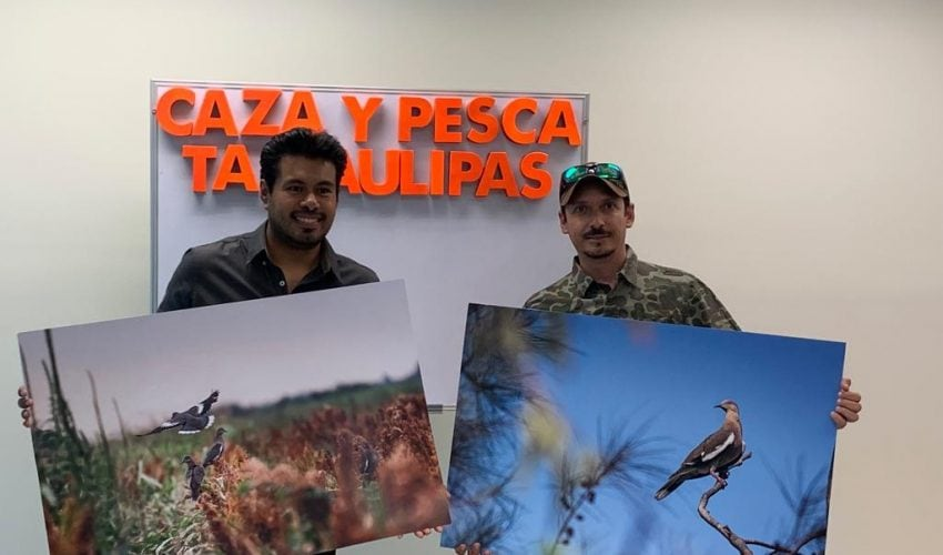 Awards ceremony to the winners of the «First photo contest of the White-winged Dove in Tamaulipas»