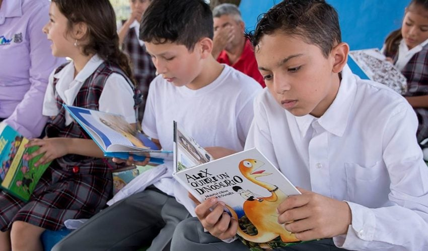 The activities of promotion and promotion of reading continue in Tamaulipas