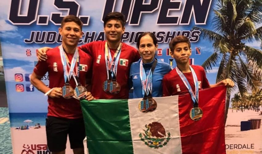Good performance of Tamaulipas Judocas in the United States