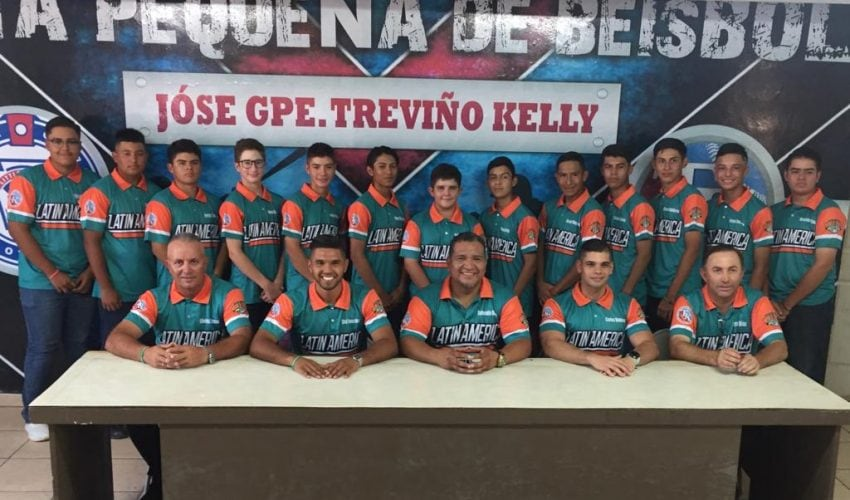 Trevino Kelly is Mexico in the Junior World Series