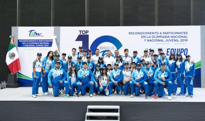 Governor recognizes athletes of the 2019 National Olympiad