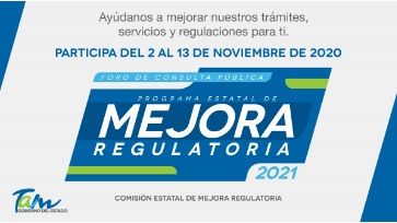 Programa Estatal de Mejora Regulatoria 2021