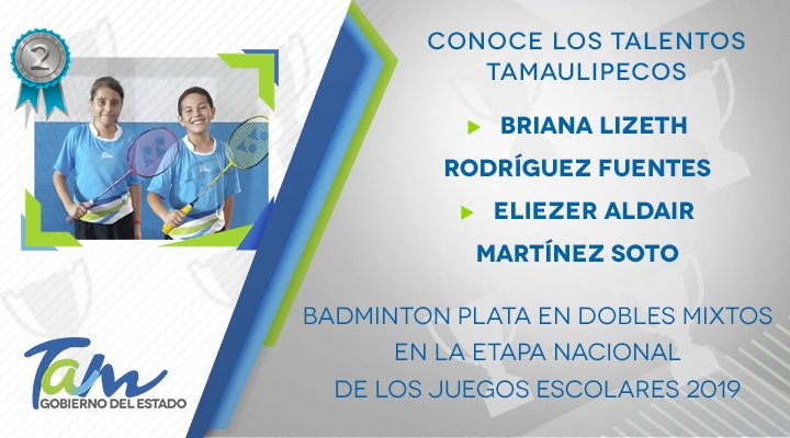 Talents Tamaulipecos Badminton in mixed doubles