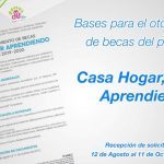 "Scholarship process begins ""Casa Hogar, Keep Learning"" 2019-2020 School Cycle"