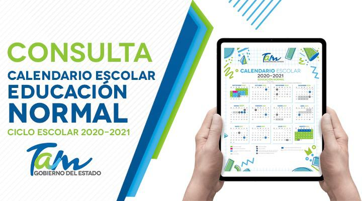 Calendario Escolar 2020-2021 – Educación Normal