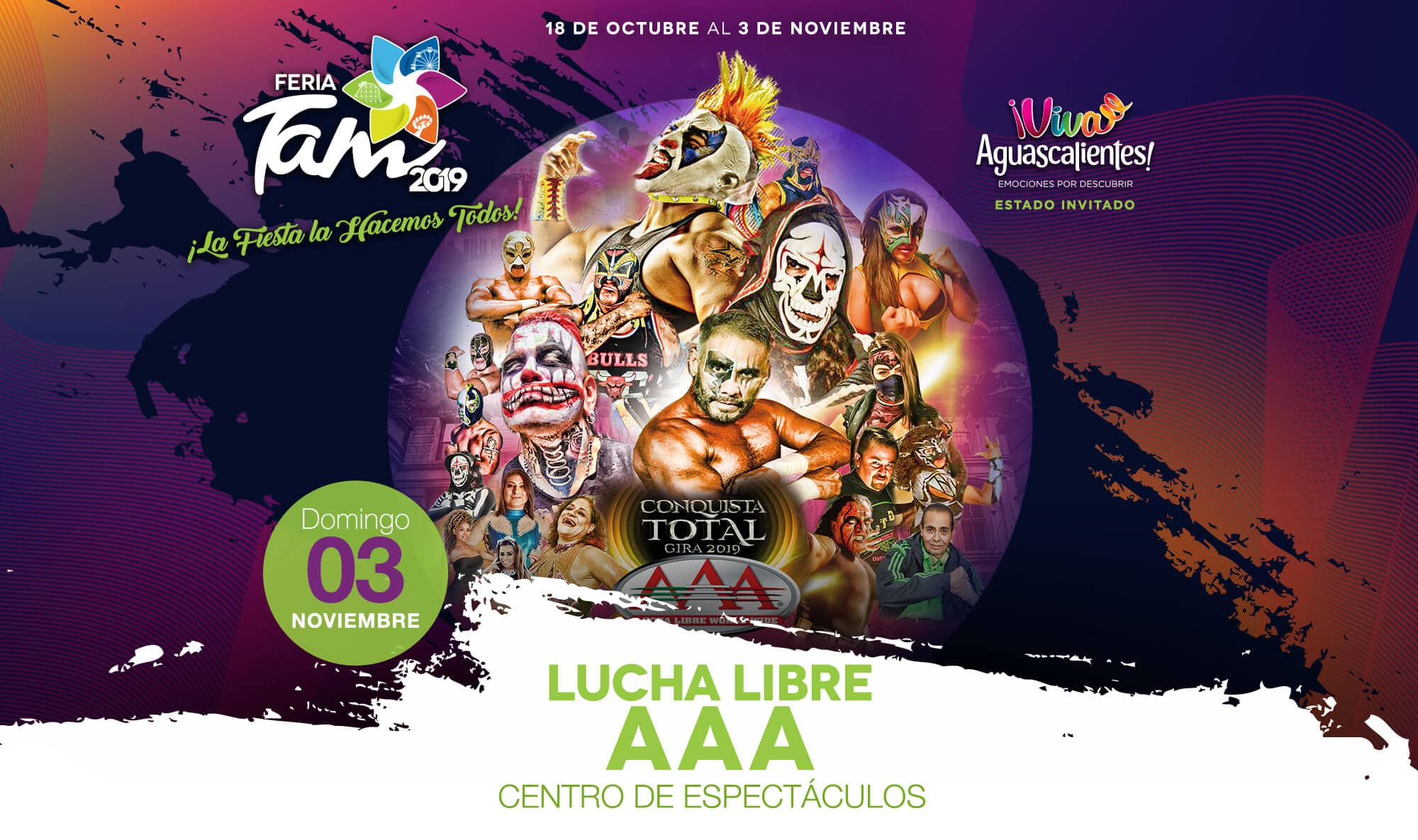 CE 11/3 – Lucha Libre AAA