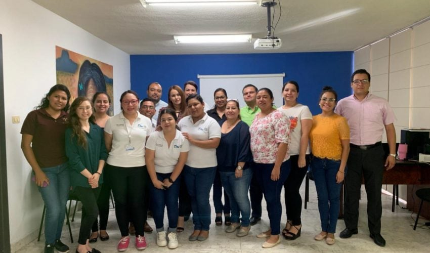 The Women's Institute in Tamaulipas trains new PAIMEF staff