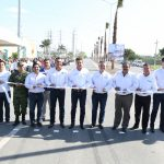 In Valle Hermoso the governor inaugurates works and supervises actions of Unidos por Tamaulipas