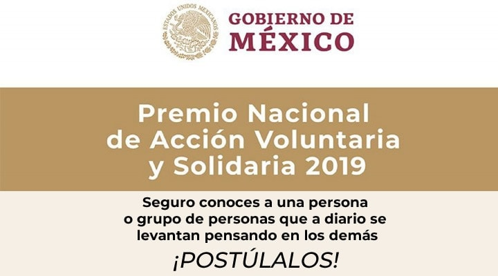 National Award for Voluntary and Solidarity Action 2019