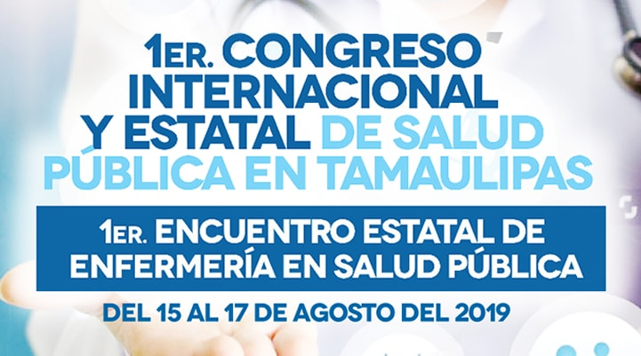 1er International and State Congress of Public Health in Tamaulipas