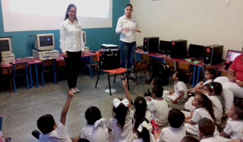 MORE THAN 13 THOUSAND BENEFICIARIES WITH ENVIRONMENTAL EDUCATION THROUGH PLAN UNITED BY TAMAULIPAS