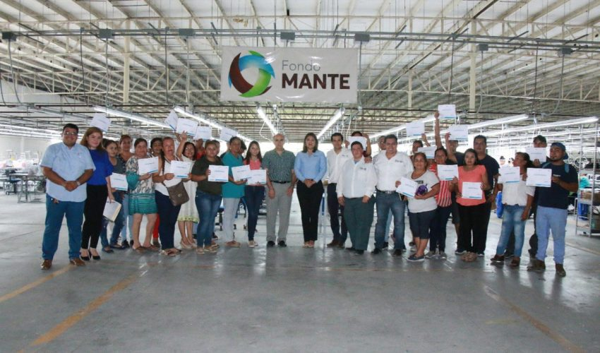 Training courses closed and work tool delivered in El Mante and Xicoténcatl