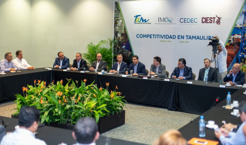 Entrepreneurs and IMCO join the planning of the development of Tamaulipas.