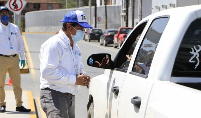 The State Government reinforces health operations to avoid non-essential trips from Texas to Tamaulipas.